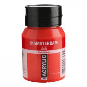 Acrílico Amsterdam 396 500 ml Rojo Naftol Medio