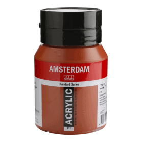Acrílico Amsterdam 411 500 ml Tierra Siena Tostada