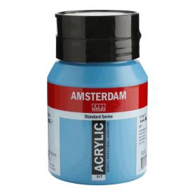 Acrílico Amsterdam 517 500 ml Azul Real