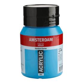 Acrílico Amsterdam 564 500 ml Azul Brillante