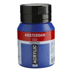 Acrílico Amsterdam 570 500 ml Azul Ftalo (primario)