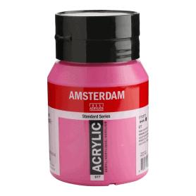 Acrílico Amsterdam 577 500 ml Violeta Rojo Permanente Claro
