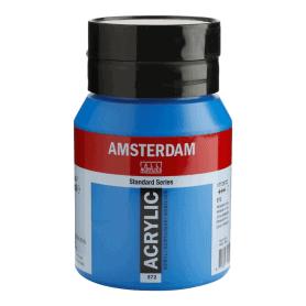 Acrílico Amsterdam 572 500 ml Ciano Primario
