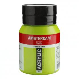Acrílico Amsterdam 617 500 ml Verde Amarillo