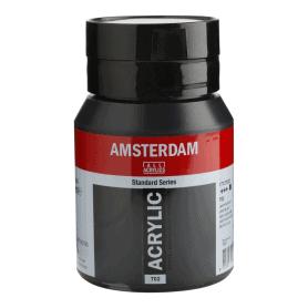 Acrílico Amsterdam 702 500 ml Negro Bujía