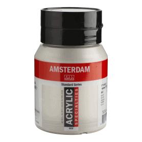 Acrílico Amsterdam 800 500 ml Plata