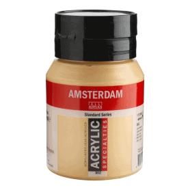Acrílico Amsterdam 802 500 ml Oro Claro