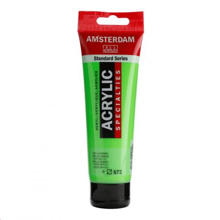 Acrílico Amsterdam Specialties 120 ml 672 Verde reflex