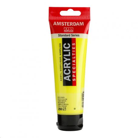 Acrílico Amsterdam Specialties 120 ml 256 Amarillo reflex