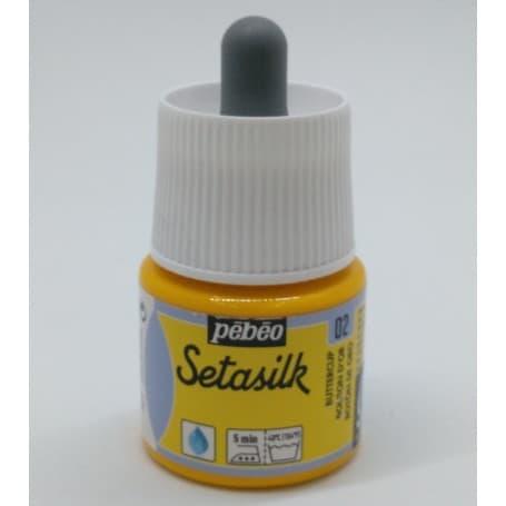 Pintura Seda Setasilk Botón de oro 45 ml