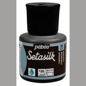Pintura Seda Setasilk Castaño 45 ml