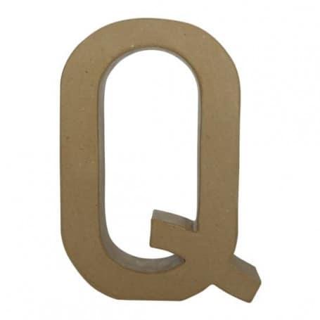 Letra Q Fantasía 30cm