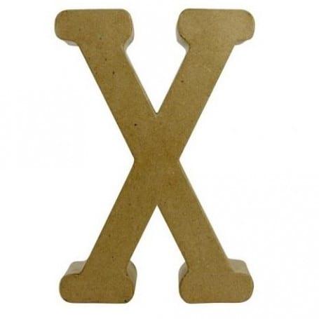 Letra X Fantasía 30cm