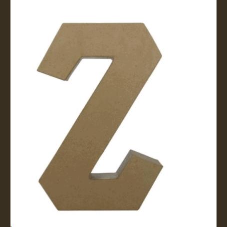 Letra Z Fantasía 30cm