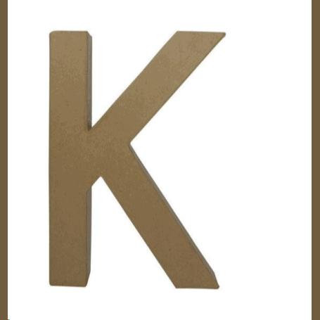 Letra K Fantasía 3ocm