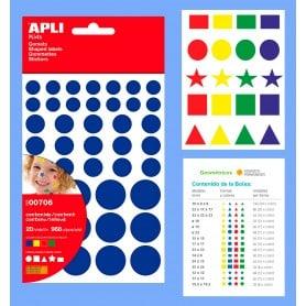 Gomets Geométricos Colores Apli