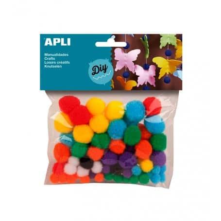 Pompones Colores, Apli