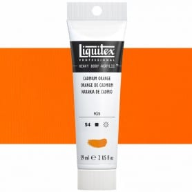 Naranja de Cadmio 150 S4 59 ml Acrílico Liquitex Heavy Body