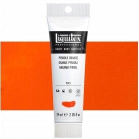 Naranja Pirrol 323 S4 59 ml Acrílico Liquitex Heavy Body