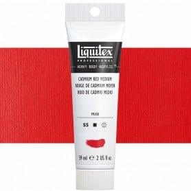 Rojo Cadmio Medio 154 S5 59 ml Acrílico Liquitex Heavy Body