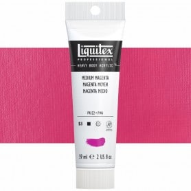 Magenta Medio 500 S1A 59 ml Acrílico Liquitex Heavy Body