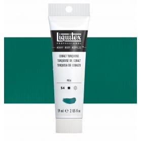 Turquesa Cobalto 169 S4 59 ml Acrílico Liquitex Heavy Body