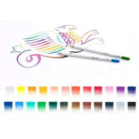 Set 24 Lápices Colores Mina Suave, Winsor & Newton