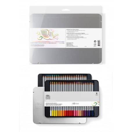 Set 48 Lápices Colores Mina Suave, Winsor & Newton