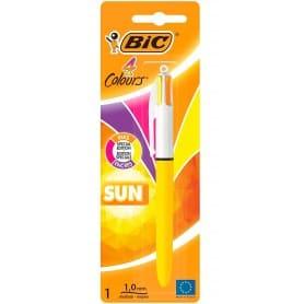 Bolígrafo 4 Colores Special Edition Sun, Bic