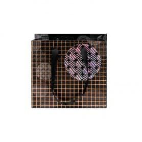 Bolsa Regalo Círculos 18x16x8 cm
