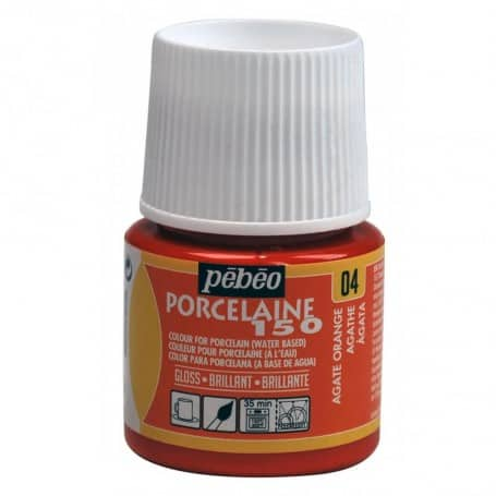 Porcelaine 150 45ml Naranja