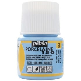 Porcelaine 150 45ml Azul Pastel
