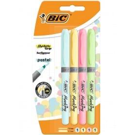Marcadores Fluorescentes Pastel, Bic