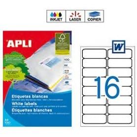 Etiquetas Apli 10561 Medidas 99,1 x 34 mm