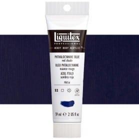 Azul Ftalo (Sombra Roja) 314 S2 59 ml Acrílico Liquitex Heavy Body