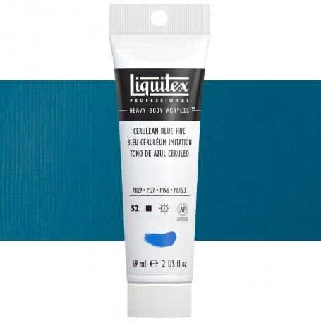 Azul Cerúleo 470 S2 59 ml Acrílico Liquitex Heavy Body