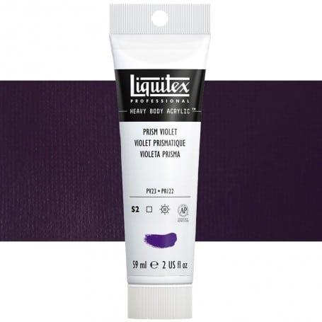 Violeta Prismático 391 S2 59 ml Acrílico Liquitex Heavy Body