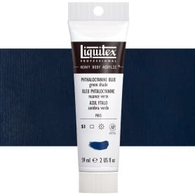 Azul Ftalocianina 316 S1A 59 ml Acrílico Liquitex Heavy Body