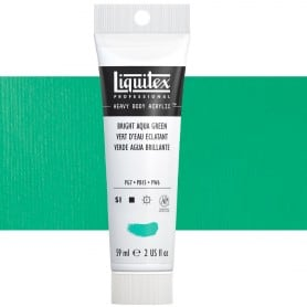 Verde Agua Billante S1 660 59 ml Acrílico Liquitex Heavy Body
