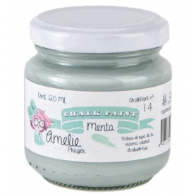 Chalk Paint Amelie 120ml Menta