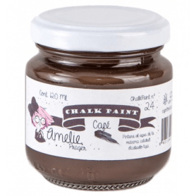 Chalk Paint Amelie 120ml Café