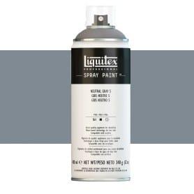 Gris Neutro 5 Liquitex Spray Acrílico