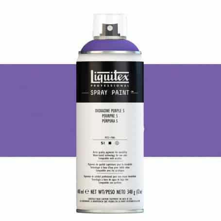 Púrpura Dioxazine 5 Liquitex Spray Acrílico