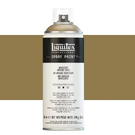 Oro Antiguo Iridiscente Liquitex Spray Acrílico
