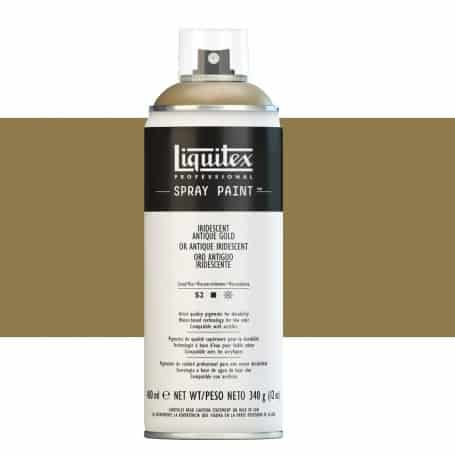Oro Antiguo Iridiscente Liquitex Spray Acrílico
