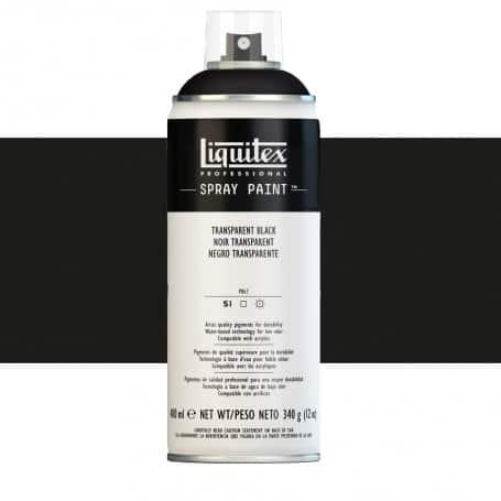 Negro Transparente Liquitex Spray Acrílico