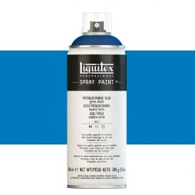 Azul Ftalocianina (Tono Verde) Liquitex Spray Acrílico