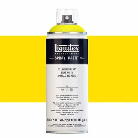 Amarillo Medio Azo Liquitex Spray Acrílico