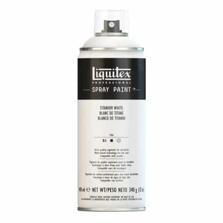 Liquitex spray acrílico Blanco Titanio