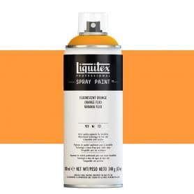 Naranja Flúor Liquitex Spray Acrílico